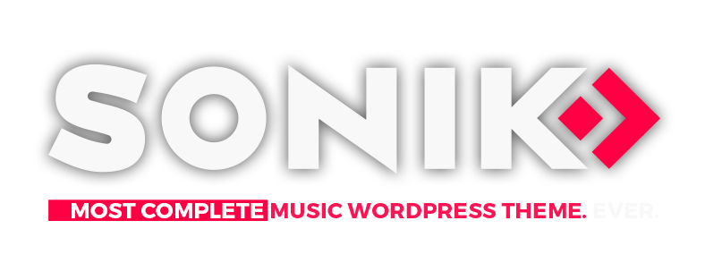 Sonik Music Wordpress Theme