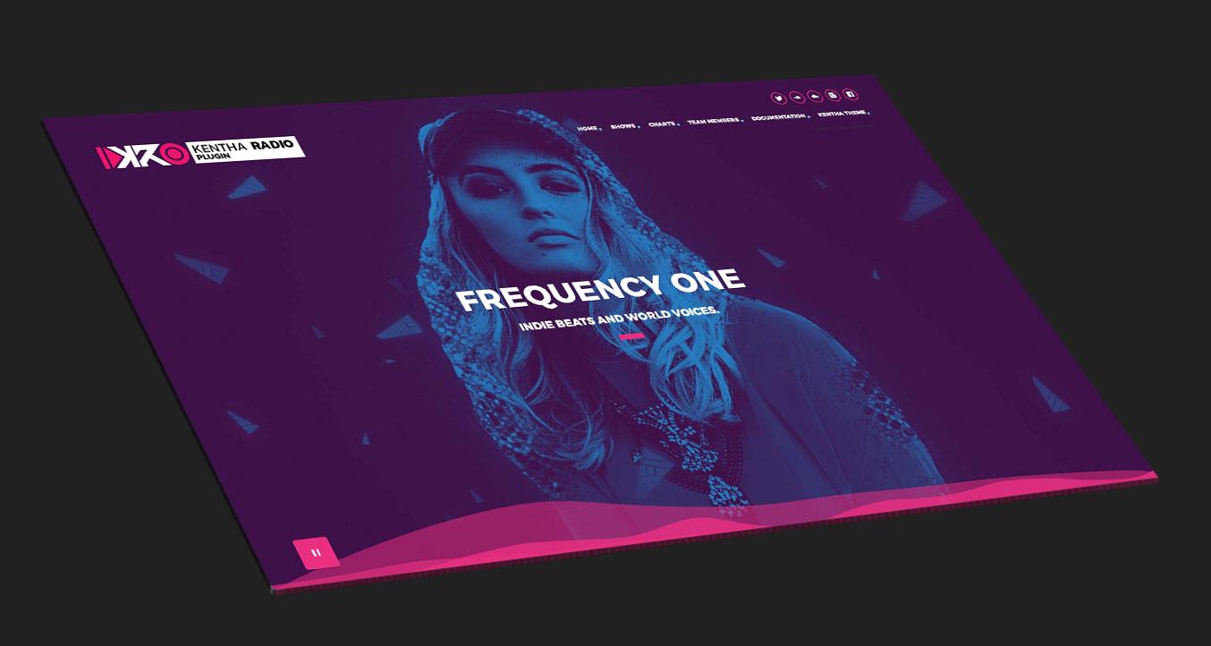 Kentha Radio plugin for Kentha WordPress Theme