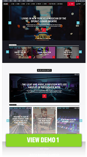 Onair2: Radio Station WordPress Theme - 2