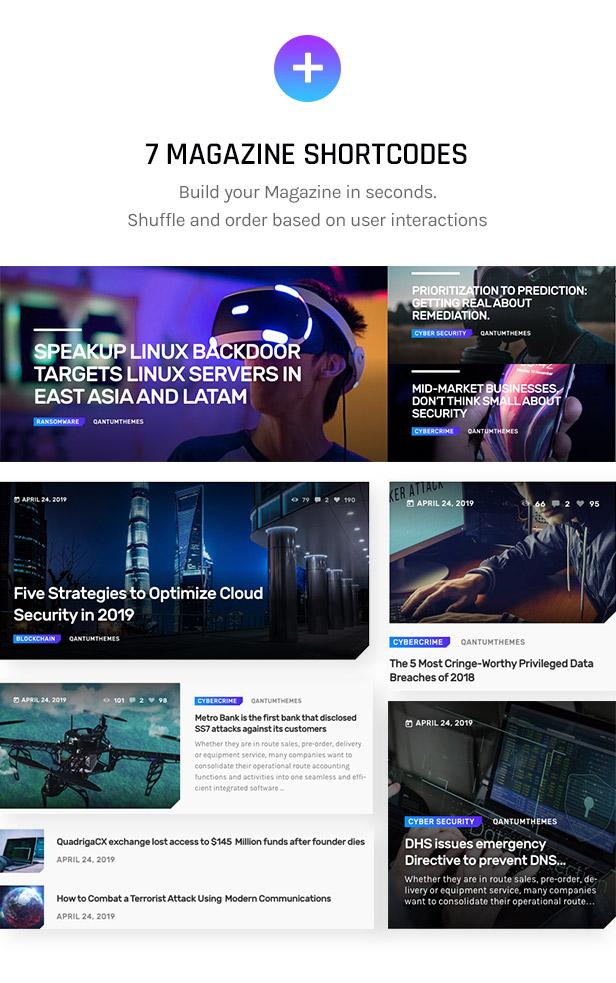 Firwl - Cyber Security WordPress Theme - 8