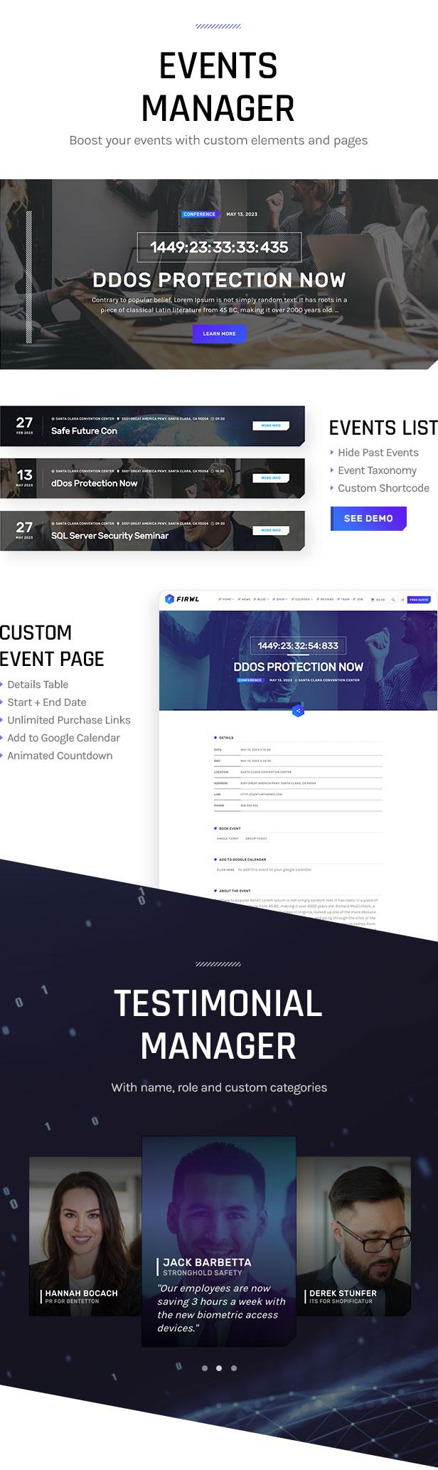 Firwl - Cyber Security WordPress Theme - 13