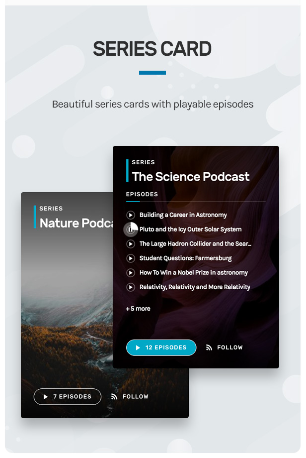 Wpcast - Audio Podcast WordPress Theme - 7